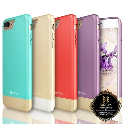Vena [iSlide] For Apple iPhone 8 7 Plus [Slim] Fit Cover Shockproof Rubber Case
