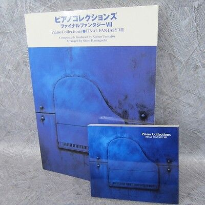 FINAL FANTASY VII 7 PIANO COLLECTIONS Set of SCORE & MUSIC CD Book *