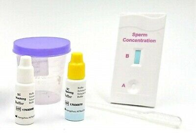 1 X One Step® Male Fertility Sperm Concentration Test/Tests, Active Count Kit