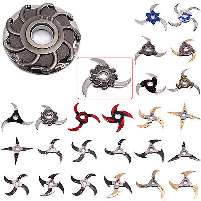 Metal Transformable Shuriken Naruto Shippuuden One Piece Cosplay Toy Boxed Gift