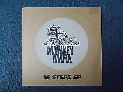 "Monkey Mafia 15 Steps EP 12"" Heavenly HVN6712 1997"