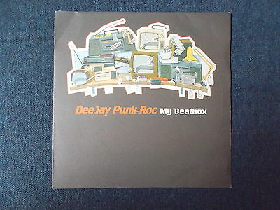"Deejay Punk-Roc My Beatbox 12"" Independiente ISOM 12T 1998"