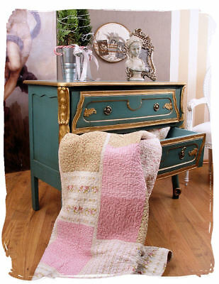 Vintage Commode Baroque Avec Sculptures Country Style Placard Tiroirs