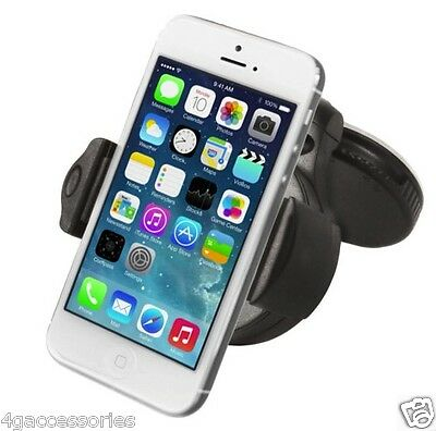 360 Windscreen In Car Kit Mount Holder Cradle Sony Xperia Samsung Iphone