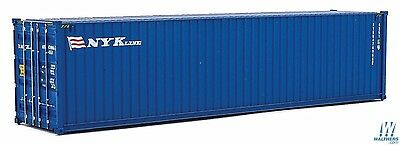 HO NYK Lines (blue, white, red) 40' High Cube Container - Walthers #949-8265
