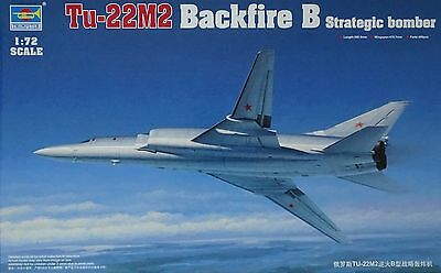 TRUMPETER® 01655 Tu-22M2 Backfire B Strategic Bomber in 1:72