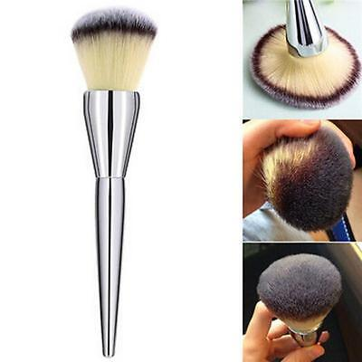 Pro Makeup Cosmetic Synthetic Fiber Stippling Brush Blush Foundation Powder LG