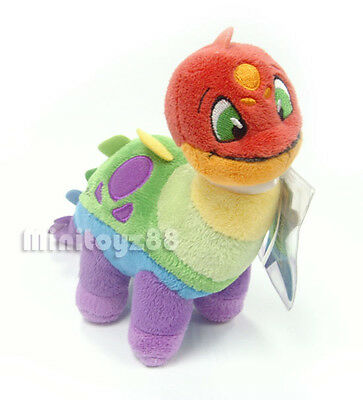 Neopets Series 4 Rainbow Chomby Keyquest Unused Code Plush Toy