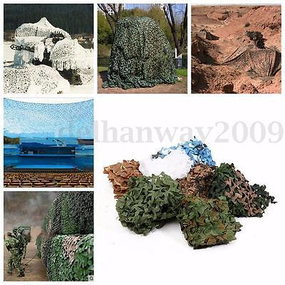Camo Net Camouflage Netting Hide Army Cover Reversible Hunting/Shooting Camping