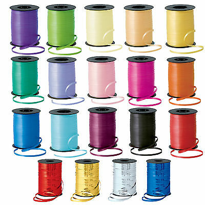 500m Curling RIBBON - 25 Colours (5mm Wide)(Balloon/Craft/Gift Wrap/Art)