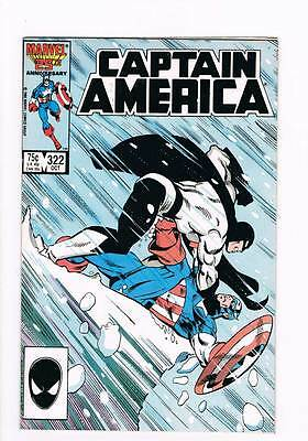 Captain America # 322 The Chasm ! grade 9.0 scarce book !!