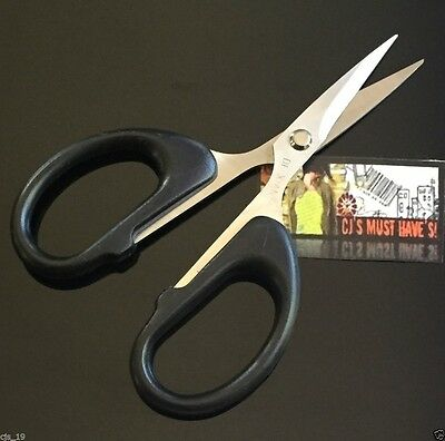 SMALL 12cm POINTED HANDY CRAFT SEWING SCISSORS LARGE HANDLES - KNITTING OFFICE