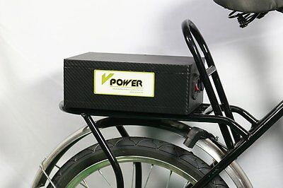Electric Bike 36v 20ah Lithium Battery Packs Bicycle Scooter Batteries + Charger
