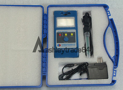 NEW LCD Tesla Meter WT10A Gaussmeter Surface Magnetic Field Tester+Ns Function
