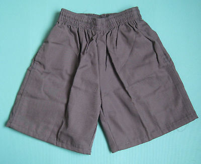 NEW School Uniform Shorts Grey size 5 to 16