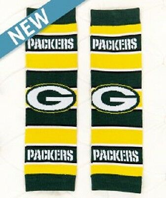 NFL Green Bay Packers Baby Leggings Leg Warmers Cotton Blend Toddler Football
