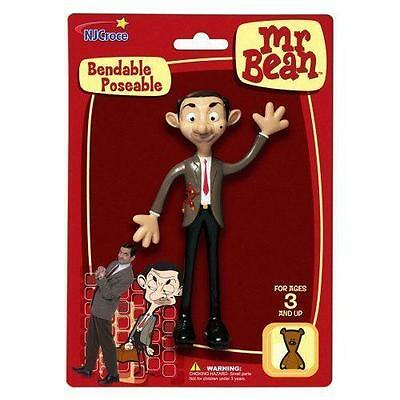 Mr Bean Action Figure Bendable Poseable Rowan Atkinson Official Figure 5.5 Inch