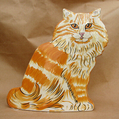 CATS BY NINA new CAT VASE LUCY seller NINA collectible