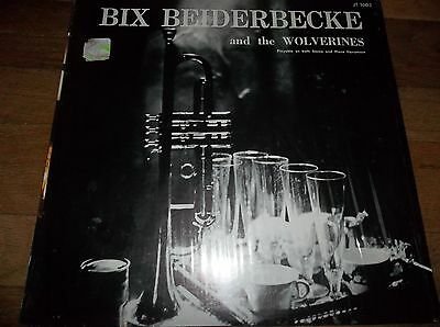 Leon Bix Beiderbecke & The Wolverines LP VG+ Sioux City Six Rhythm Jugglers