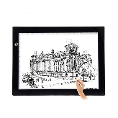 A3 A4 LED Grafiktablett Stift-Tablet Touchpad Tracing Animation Skizze MISS 07