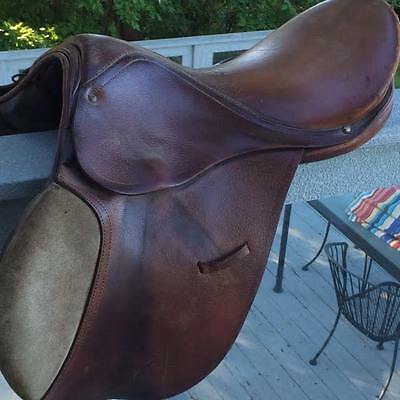 Vintage Horse Saddle Genuine Leather - Brown!Rustic Rossie Y Caruso - Savieeva,