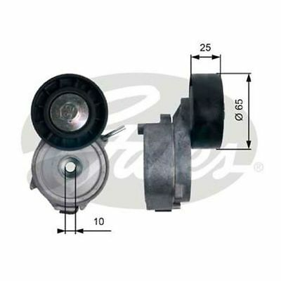 Gates Belt Tensioner Pulley Alternator for FORD MONDEO 2.0 2.2 CHOICE2/2 TDCi