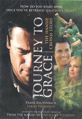 NEW Sealed Christian Widescreen 2-DVD Set! Journey to Grace: Hansie Cronje Story