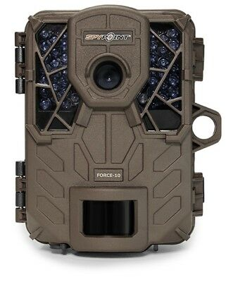 Spypoint FORCE-10 HD 10mp Ultra Compact Low Glow Infrared Trail Camera Force 10