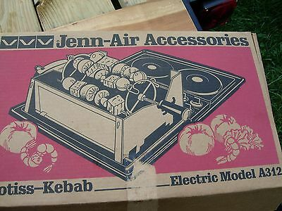 Jenn-Air A 312 Electric Rotisserie New Unused In Box With Manual, Etc. Nice
