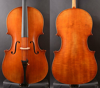 "Best model Cello Montagnana 1739 ""Sleeping Beauty"" Copy, Deep Sweet tone"