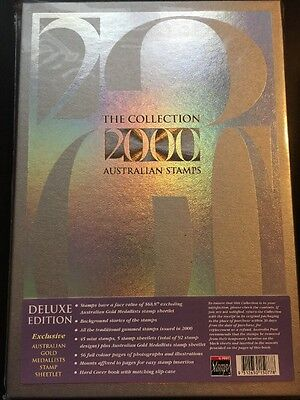 2000 Deluxe Year Book Australia Stamp Complete Collection With All Mint Stamps