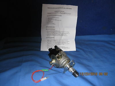 Mg   New Mgb 45D Distributor Fitted With Electronic Ignition  1975 On