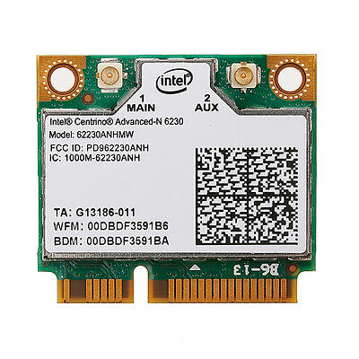 Dual Band Intel 6230 62230ANHMW 300 WiFi BT Wireless Mini PCI-E Card Universal