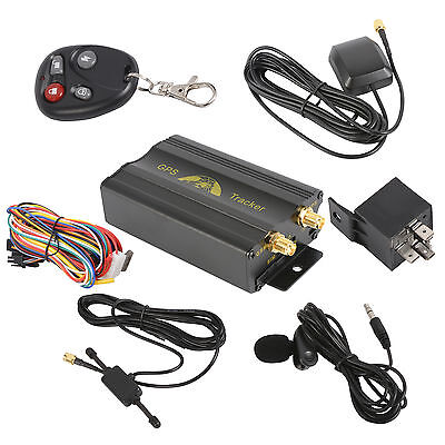 Realtime Vehicle Car GSM GPRS GPS Tracker Tracking Alarm System TK103B VG002