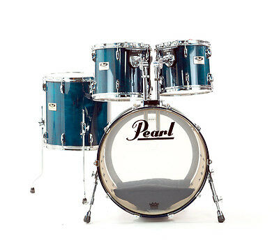 Pearl Session Series Shell Pack in Teal Blue (PRE-OWNED)
