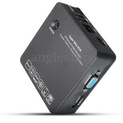 8CH MINI NVR Network IP Kamera Video Recorder 1080P HD P2P HDMI VGA LAN USB HDD