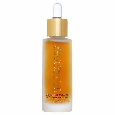 St Tropez Self Tan Dry Luxury Face Oil 30ml for her BRAND NEW