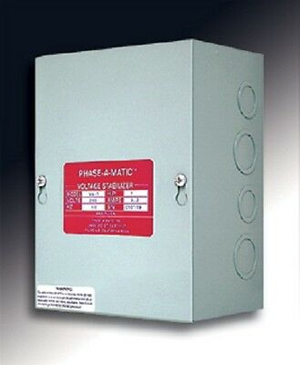 Phase-A-Matic 10 HP VS-10 Rotary Converter Voltage Stabilizer