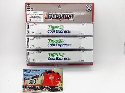 Tiger Cool Express 53' Container 3-Pack HO - ScaleTrains.com #SXT10123 vmf121