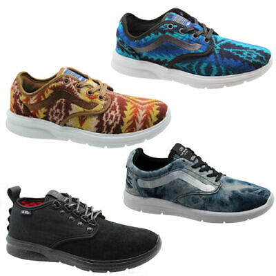 Vans Off The Wall Iso Mens Trainers Lace Up Unisex Shoes
