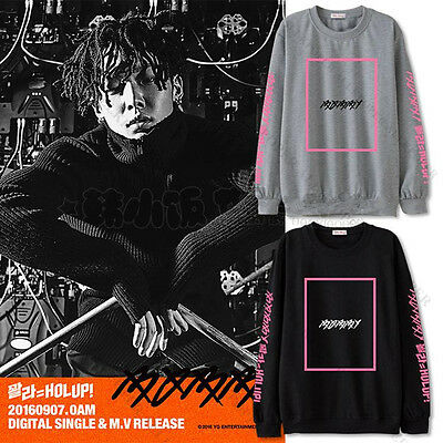 Kpop IKON Sweater BOBBY SOLO HOLUP Hoodie Unisex Sweatershirt Pullover Cotton