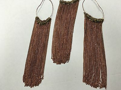 Thin necklaces chain for jewelry making or decor lot of 35