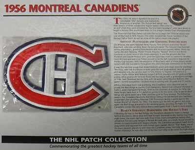 1956 Montreal Canadiens Willabee & Ward Official Nhl Hockey Patch