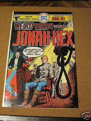 Weird Western Tales # 30 presents Jonah Hex Michael J. Fleischer September 1975
