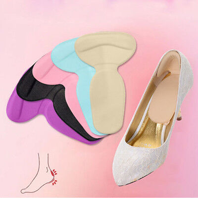 Sponge High Heel Liner Grip Back Shoe Insole Pad Foot Protector Cushion Care Lot