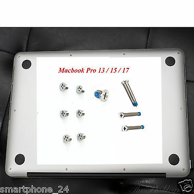 Gehäuse Schrauben Replacement Repair Screws Set Apple Macbook Pro 13 / 15 / 17