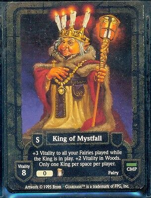 Guardians Ccg King Of Mystfall Vo Rare