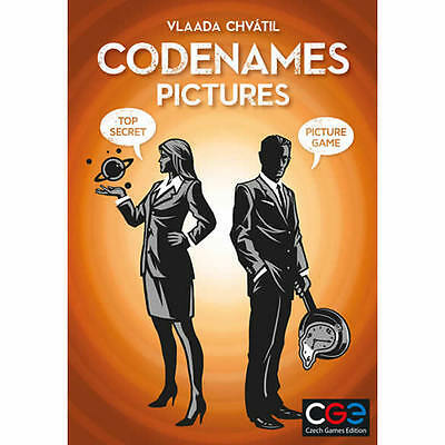 Codenames - Pictures - Party Card Game