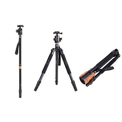 Professional Aluminium Tripod Monopod With Ball Head for DSLR Camera Camcorder