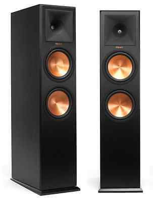 Pair Floor Standing Speakers Klipsch Rp-280F Rp-280 F Brand New ! Warranty Ebony